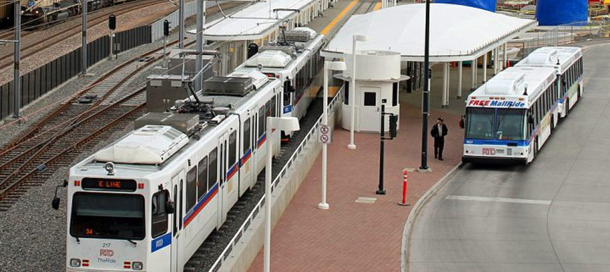 RTD Park-n-ride Evergreen to Denver Commute
